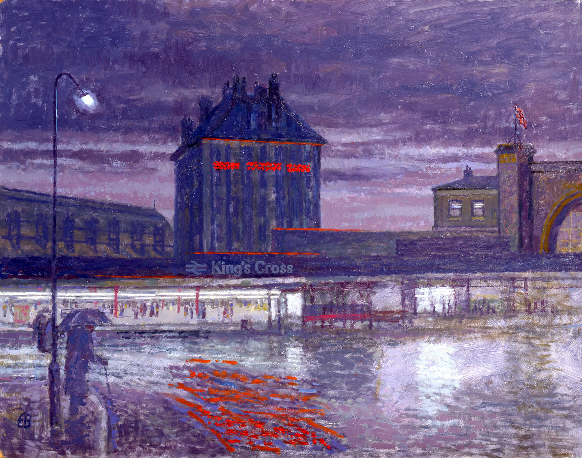 Kings Cross Station Hotel (before the fire)